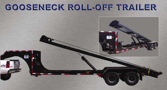 Gooseneck Roll Off Dump Trailers http://www.domatex.net/gooseneck%20roll%20off%20trailer.html